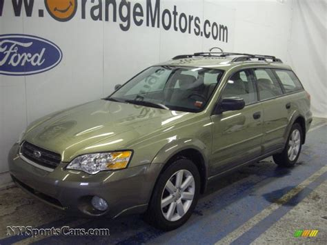 green opal car 2007 subaru outback 2 5i wagon in willow green opal