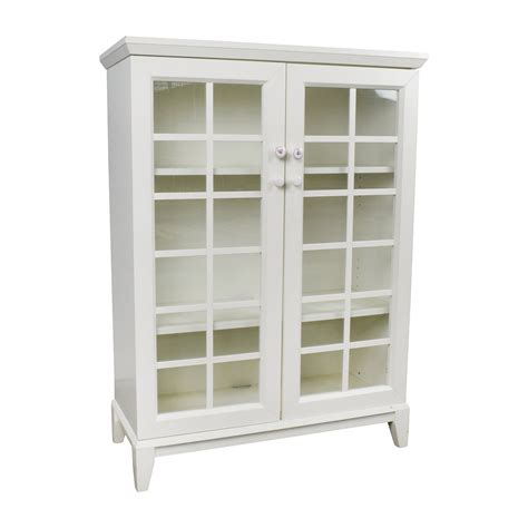crate and barrel china cabinet 48 off crate and barrel crate and barrel white china