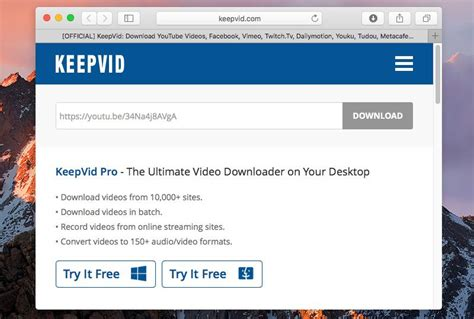 download youtube keepvid best ways to download youtube videos on mac