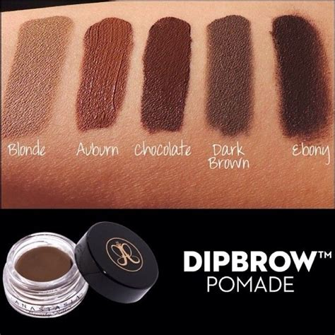 Beverlyhills Dipbrow Pomade dipbrow dipbrow is a waterproof smudge proof pomade it s wearing and once it doesn t