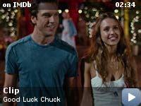 good luck chuck  video gallery