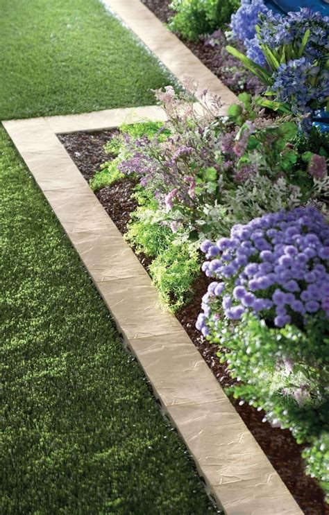 Ideas For Garden Edging Story Wood Landscaping Edging Ideas