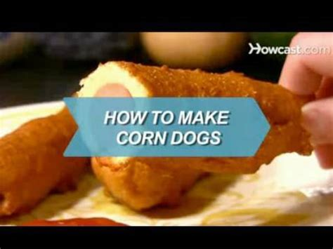 how to make corn dogs how to make corn dogs