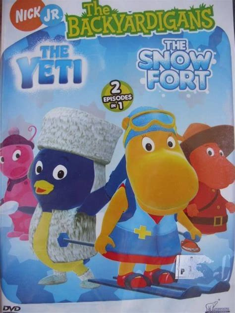 Backyardigans Yeti Backyardigans The Yeti The Snow Fort Brand New Dvd On
