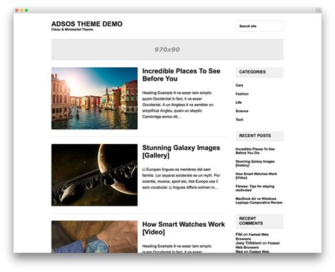 blog themes clean best minimalist wordpress themes for creatives 2016 colorlib