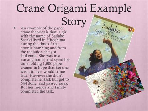 Story Origami - ppt japanese origami powerpoint presentation id 1608279