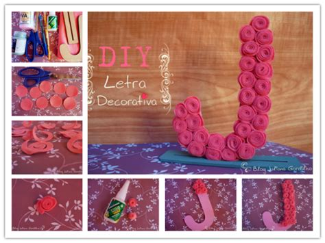 how to make room decorations how to make pretty flower letter decorations step by step