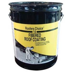 home depot roof coating roofers choice 4 75 gal fibered roof coating rc014470