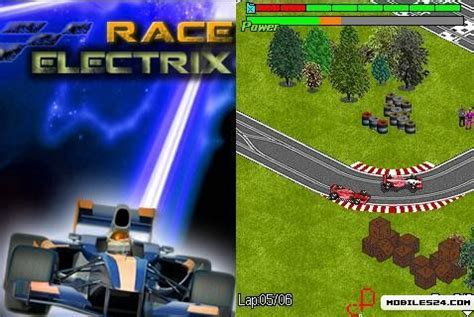 themes 320x240 mobile games race electrix 320x240 s60v3 free mobile game download