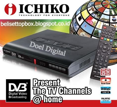 Ichiko 8000hd Set Top Box Dvb T2 jual set top box dvb t2 ichiko dvb8000hd