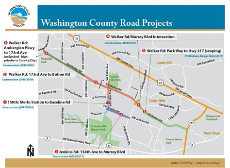 the road map project walker road 173rd to schendel phase 1