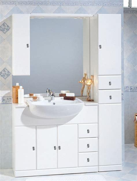mobili da bagno con lavabo mobile bagno cleo cm 100 30 con lavabo semincasso bh