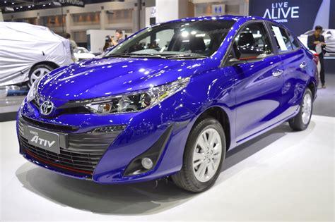 Toyota Yaris S At toyota yaris ativ s at showcased at 2017 thai motor expo