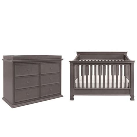 Million Dollar Baby Foothill Crib Buy Million Dollar Baby Classic Foothill 4 In 1 Convertible Crib In Weathered Grey From Bed Bath