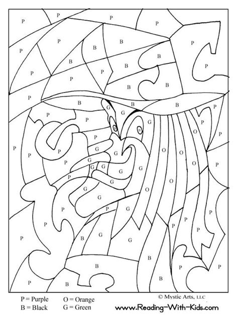 christmas witch coloring page halloween color by letter witch coloring page halloween