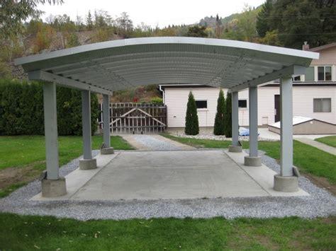 moderner carport carports modern landscape toronto by future steel