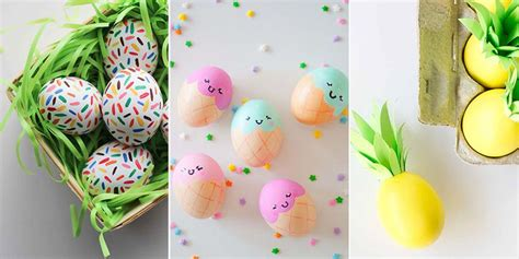 easter egg ideas 52 cool easter egg decorating ideas creative designs for