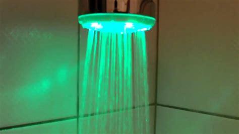 ducha shower led en colores ducha alcachofa luz led 8 c 7 colores cambia
