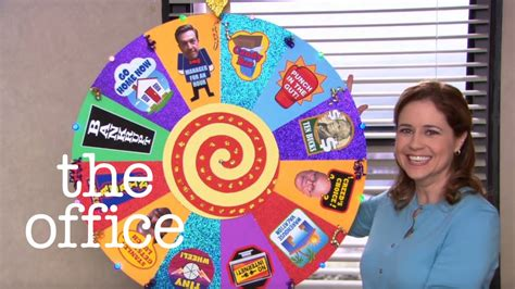 .the office chore wheel youtube