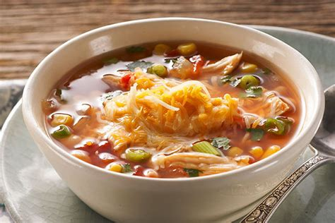 hearty mexican chicken soup kraft recipes
