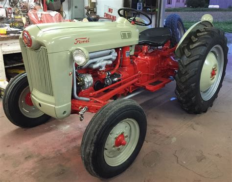 1953 ford jubilee ford forum yesterday s tractors