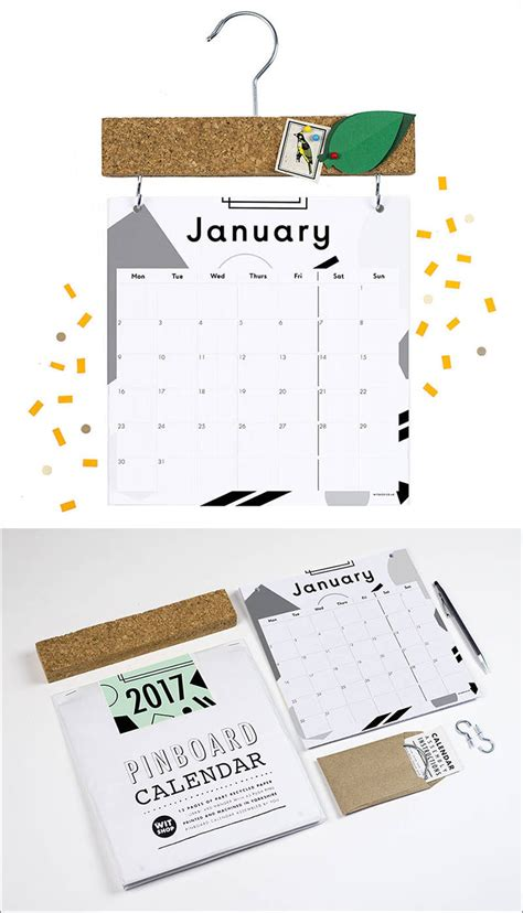make wall calendar 13 modern wall calendars to get you organized for 2017