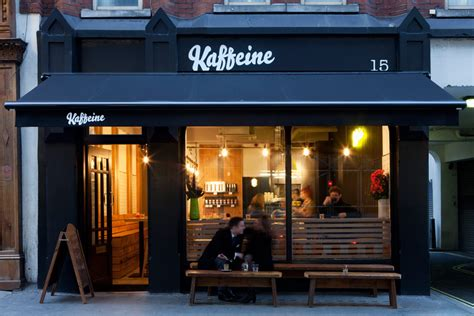 small coffee shop exterior design kaffeine the coffee snobs favourite in fitzrovia