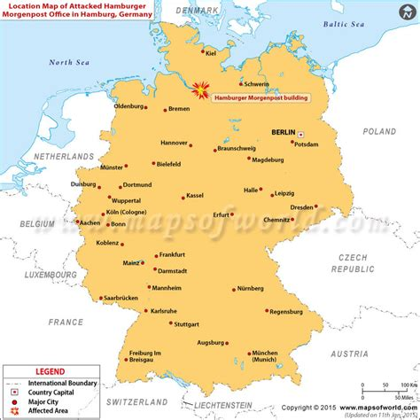germany location map hamburg germany map images
