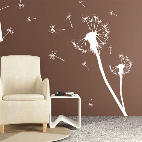 dandelion wall sticker dandelion wall decal roselawnlutheran