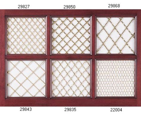 Wire Mesh Inserts For Cabinet Doors by Cabinet Doors W Speaker Cloth Finish Carpentry