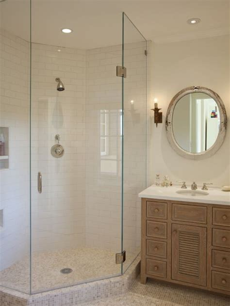 Bathroom Corner Shower Glass Shower Enclosure Home Design Ideas Pictures Remodel And Decor