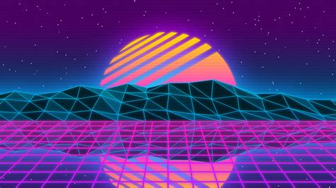 vaporwave style wallpaper  wallpapers