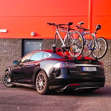 Tesla Bike Rack Tesla Eye Exhibition 5 Evannex Aftermarket Tesla