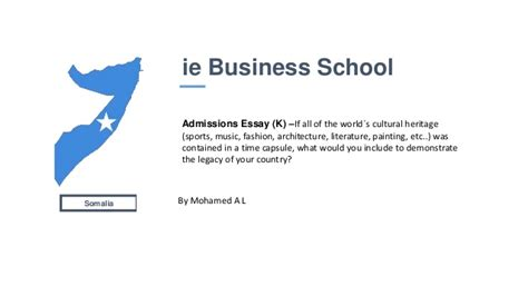 Ie Mba Application by Ie Business School Application