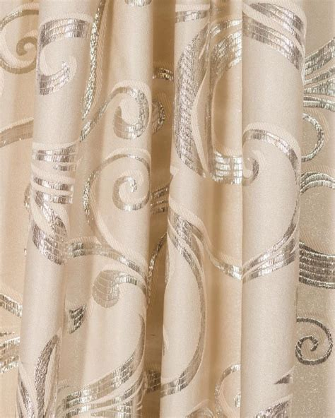 cream curtain material voiles and curtains fabrics metreage silver soft