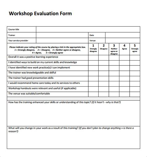 participant evaluation form templates pin sle individual employee payroll template ajilbabcom
