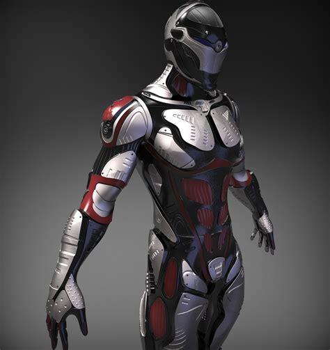 3d model sci fi character 3d model obj ztl cgtrader