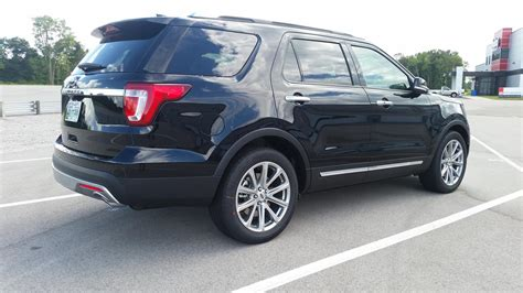 2017 ford explorer limited review 2017 ford explorer limited rental review