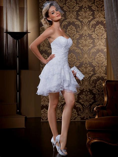White Sort Wedding Dresses by White Wedding Dresses Naf Dresses