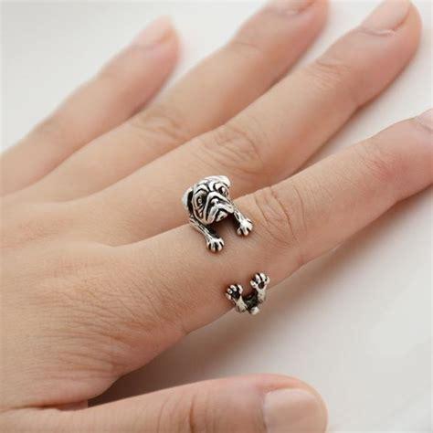 pug wrap ring pug adjustable wrap ring top pet gifts
