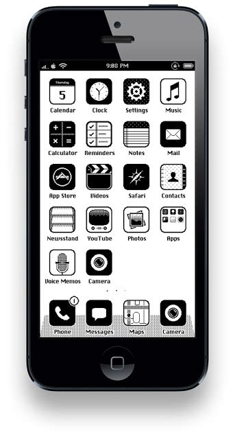 themes for iphone 5 modi5 ios 86 iphone 5 theme