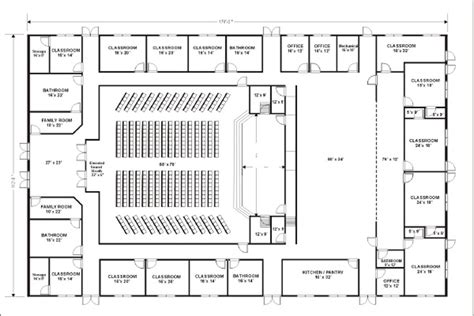 floor plan of church small church floor plan designs