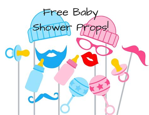 Baby Shower Photo Booth Ideas by Free Baby Shower Photo Booth Props Baby Shower Ideas