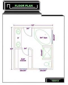 Bathroom floor plans bathroom plans free 12x13 master bath