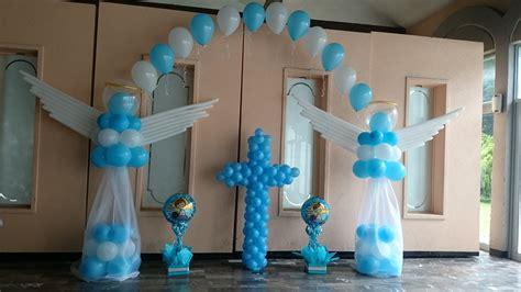 decoracion de bautizo decoraci 243 n bautizo adornos con globos decoraci 243 n con