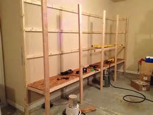 how to make shelving how to build sturdy garage shelves 171 home improvement