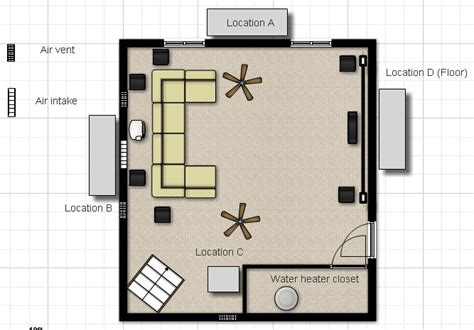media room design layout 14 delightful media room design layout home plans