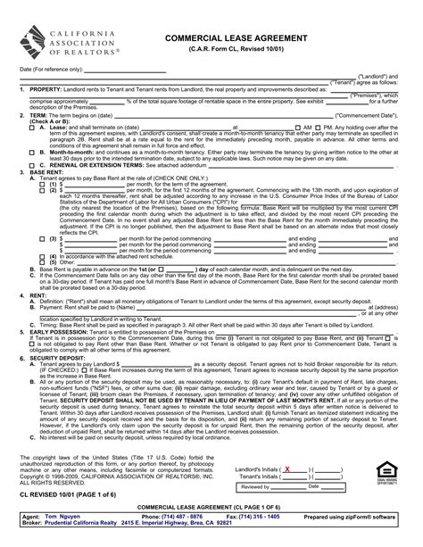commercial vehicle lease agreement template 15 business forms for car dealers and other vehicle