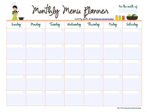 Weekly Food Calendar monthly food calendar template invitation template