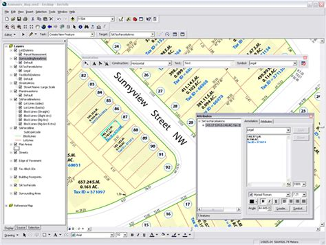 arcgis annotation tutorial arcgis desktop help 9 2 text